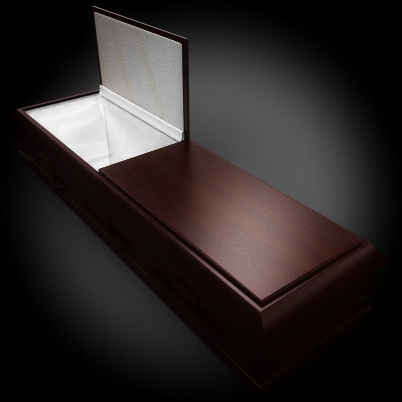 Classic Wood Coffin 1