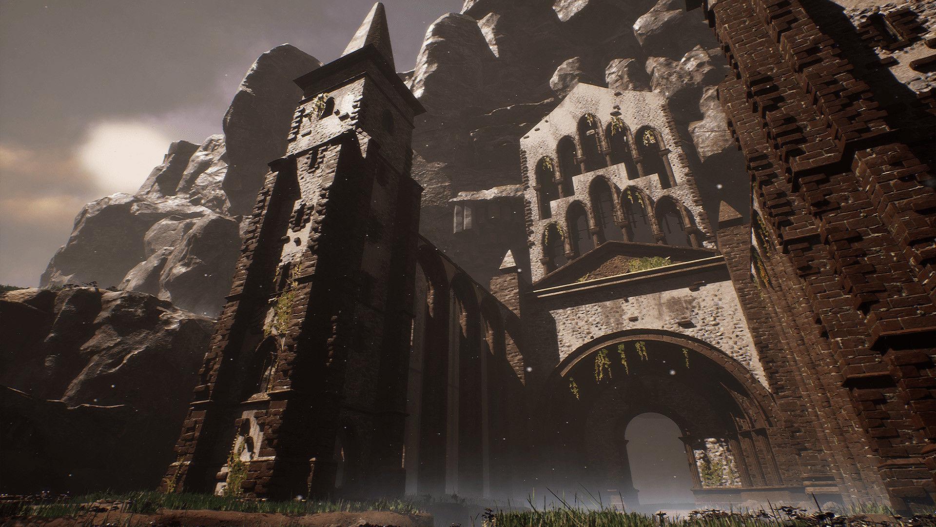Sharurs Lost Monastery Ruins Unreal Engine | 3D model