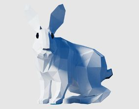 3D asset game-ready Bunny