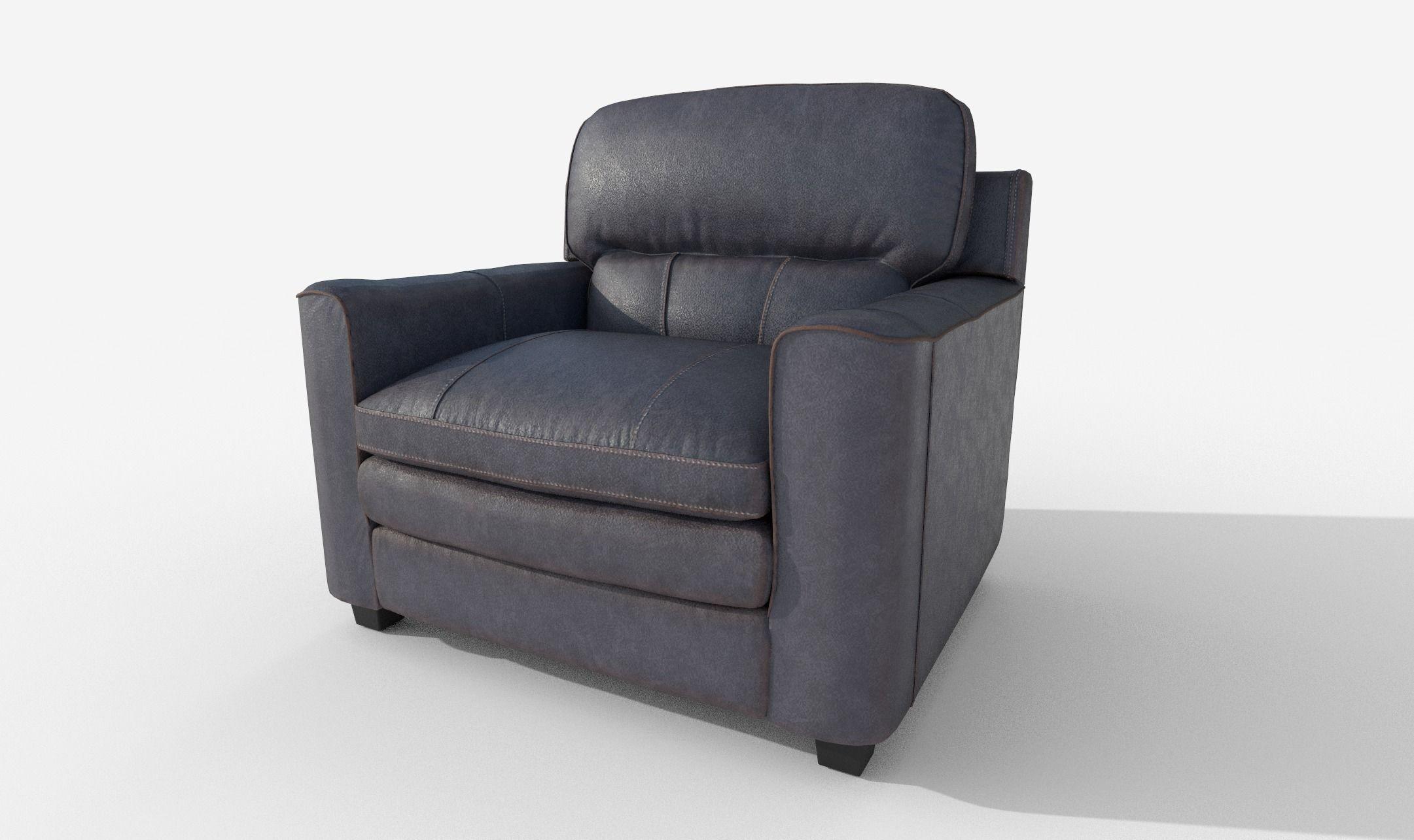 Armchair Gleason Ottoman sofa