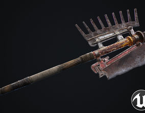 Two-handed axe 3D model