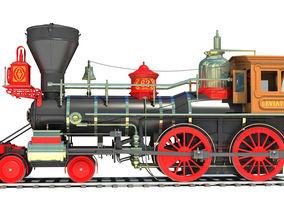 3D model Steam Locomotive Leviathan