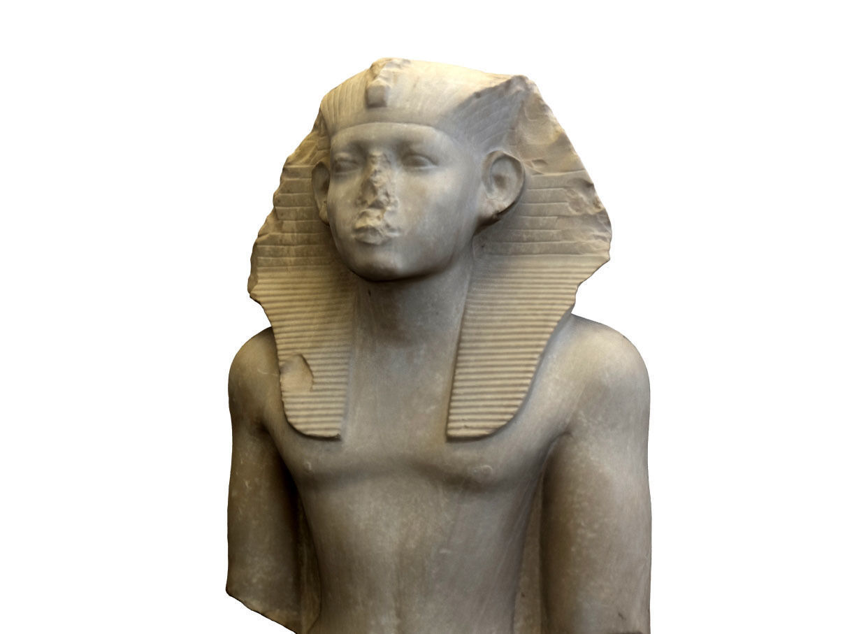 Statue of Egyptian King Senusret