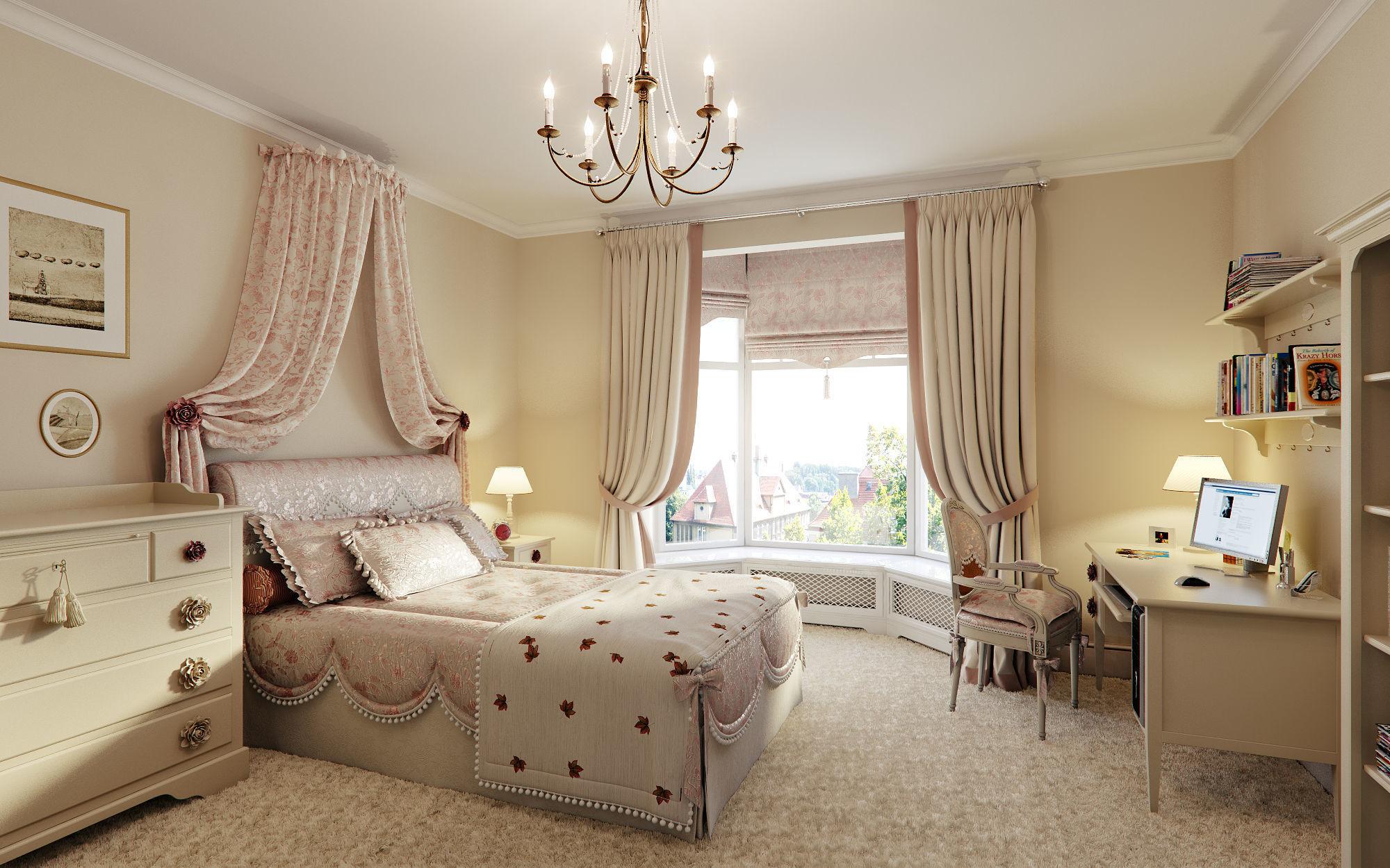 Children Classic Bedroom 3D | CGTrader on New Model Bedroom  id=18837