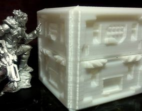 INFINITY THE GAME - Large Tech Crates with 3D print model