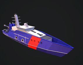 3D model Cape Class Vessel Boat