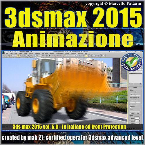 3ds max 2015 animazione volume 5 italiano cd front 3d model max pdf 1