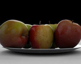 3D Apple delicious