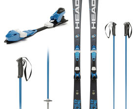 sports Ski board 3D