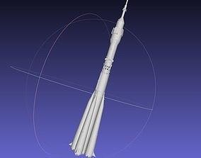 Soyuz Rocket Printable Model