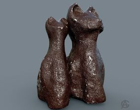 Ceramic cats 3D printable model