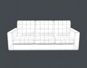 3D Free sofa low poly