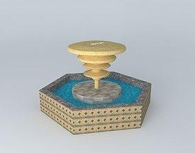 3D Fountain landmark