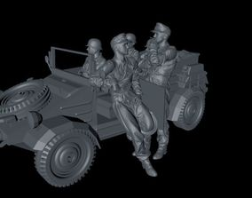 3D print model German Wehrmacht Kuebelwagen VW Typ 82 2