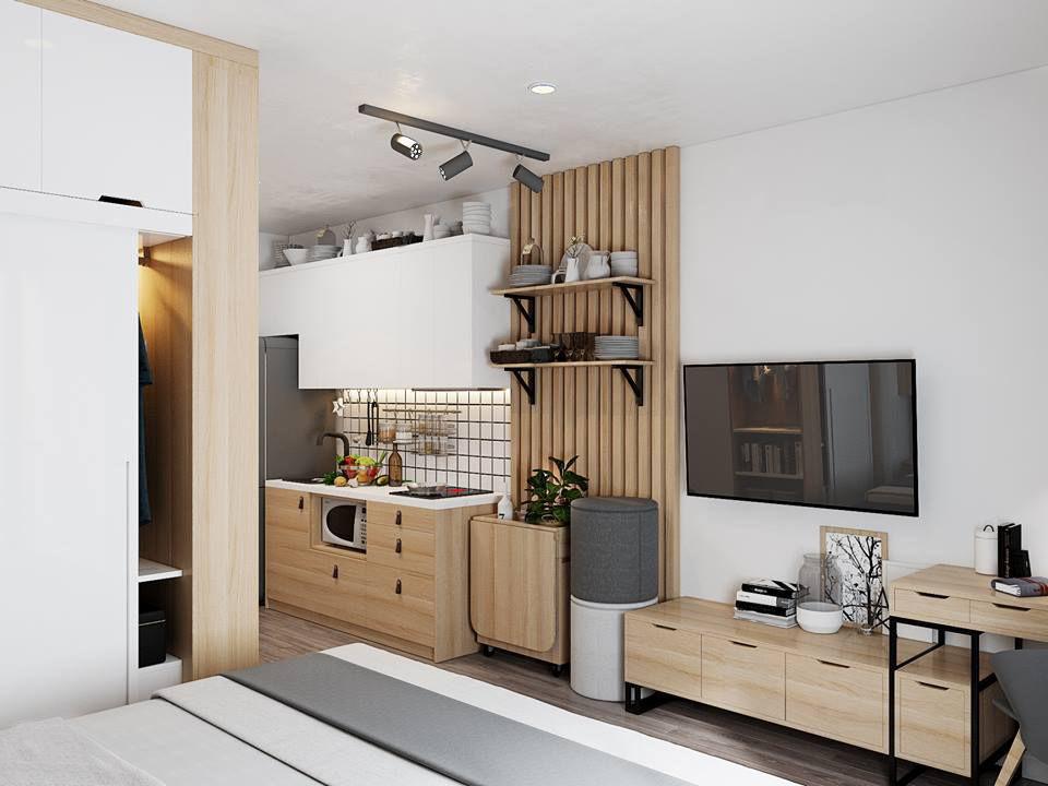 Small Apartment Scandinavian Design | 3D model