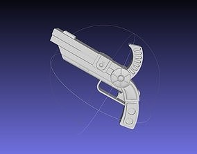 Granblue Fantasy Catherine Pistol 3D print model