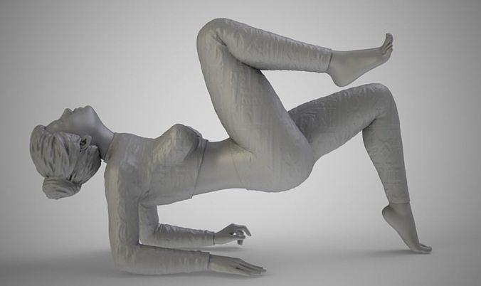 strong body 3d model obj mtl stl 3mf 1