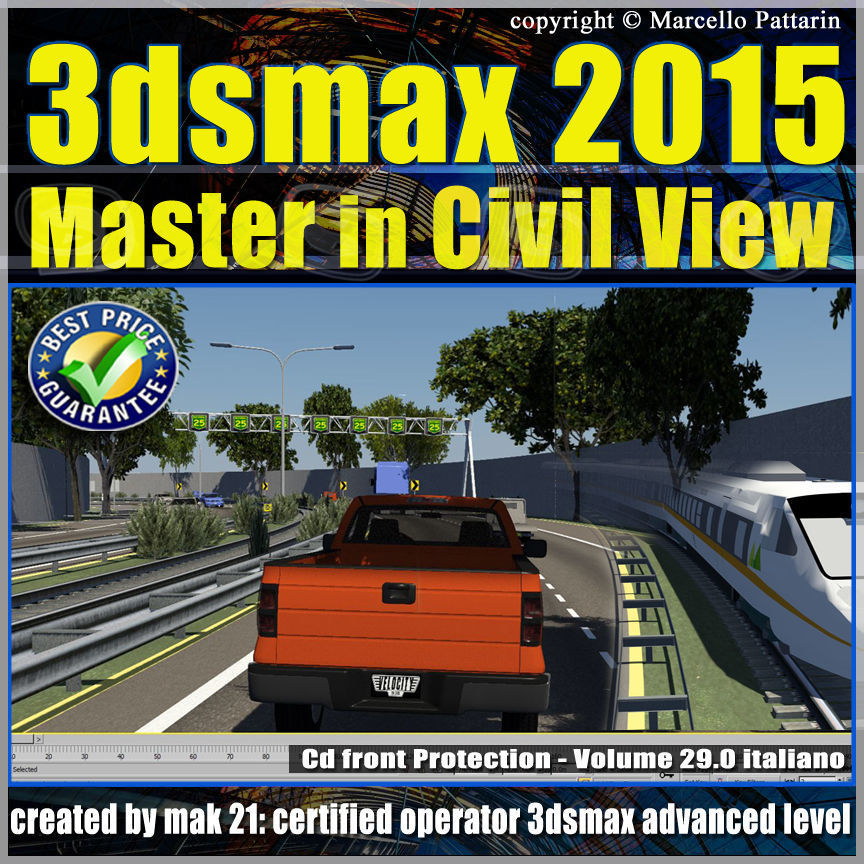 3ds max 2015 Master in Civil View vol 29 cd front