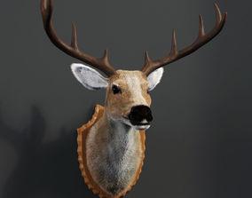 Deer Head Mount 3D model