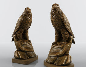 3D model Eagle Sculpture