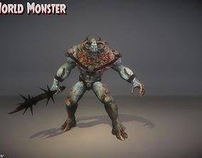 3D model UnderWorld Monster for UNREAL