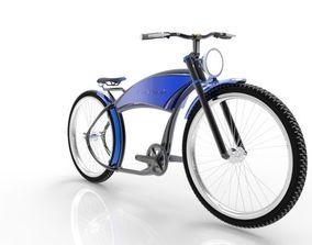 3D retro BIcycle