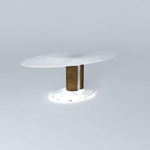 Dining room table free 3d model max obj 3ds fbx stl dae for Dining room table 3ds max