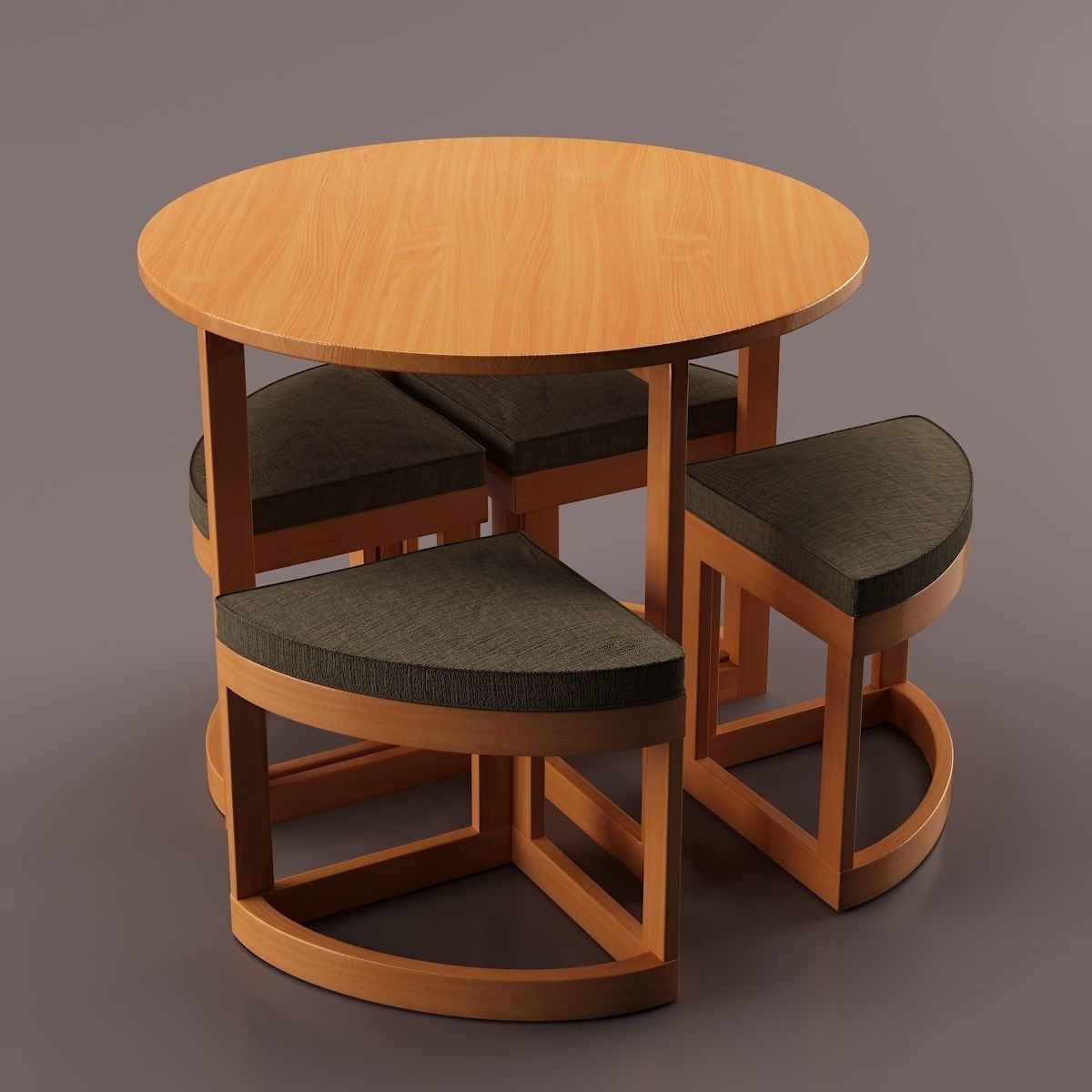 Compact Dining Table Model
