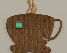 Cup holders 3D model