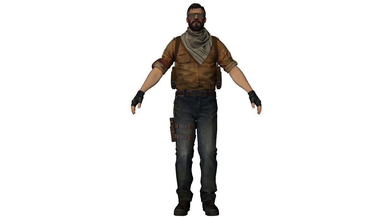 Terrorist model CS GO number 2 | 3D model