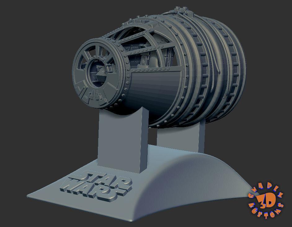 Millennium Falcon Cockpit - read description for directions
