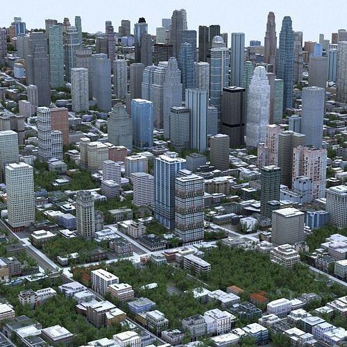 big city 53 3d model max obj mtl fbx tga 1