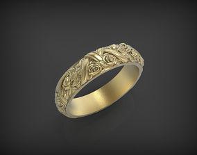 3D print model Ring Flower Wreath jewellery