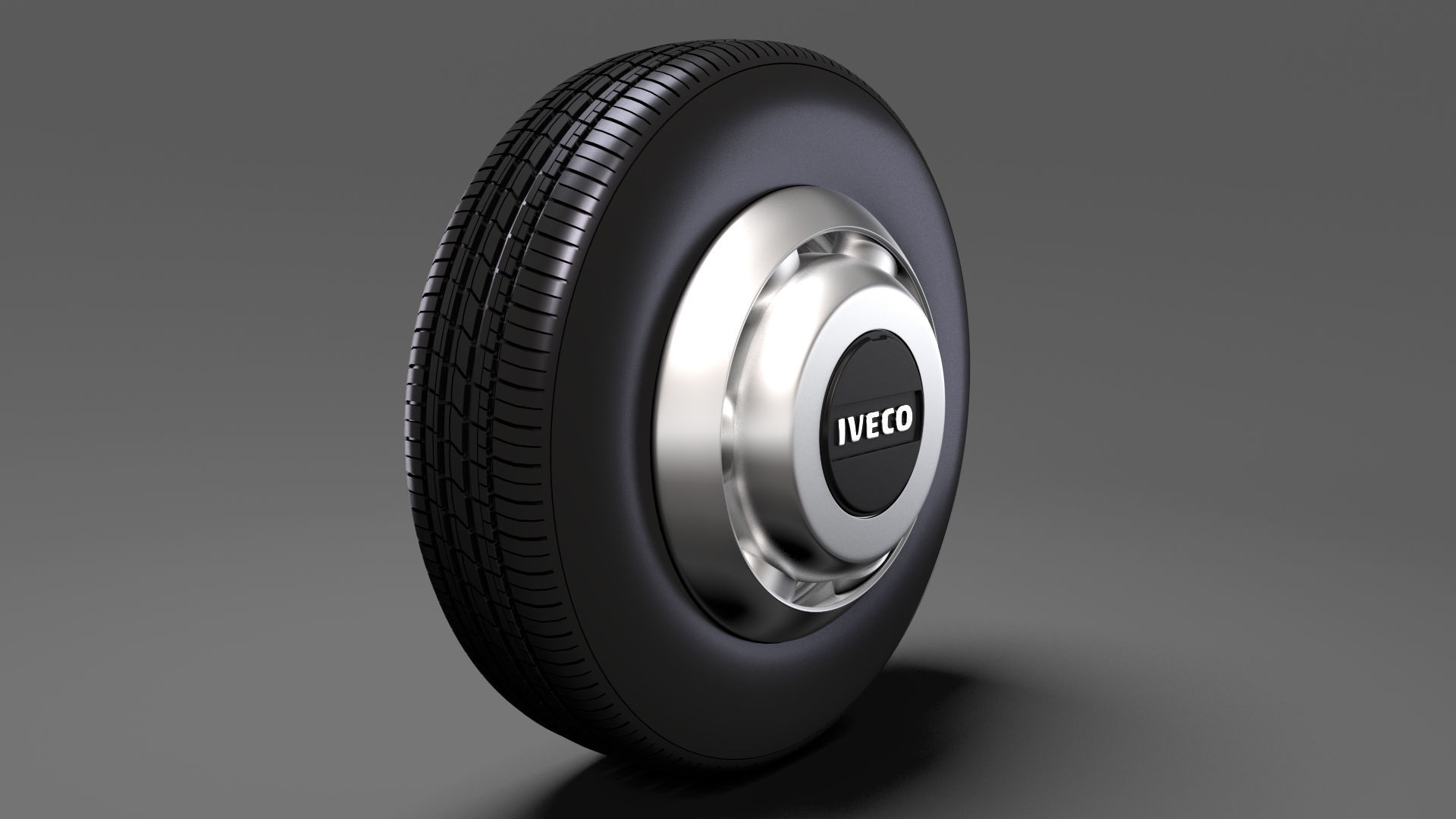 Iveco Daily Minibus front wheel 2017