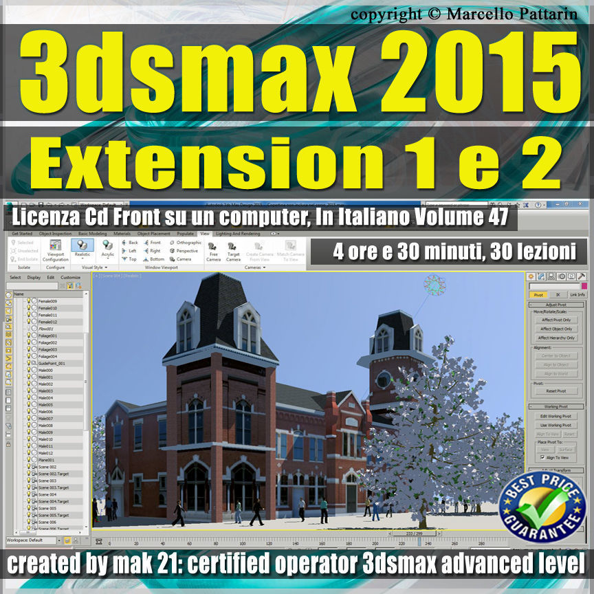 3ds max 2015 Extension 1 e 2 vol 47 CD front