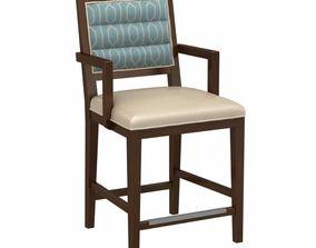 Fairfield proctor counter stool 3d model