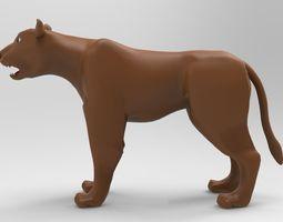 Lioness 3D printable model