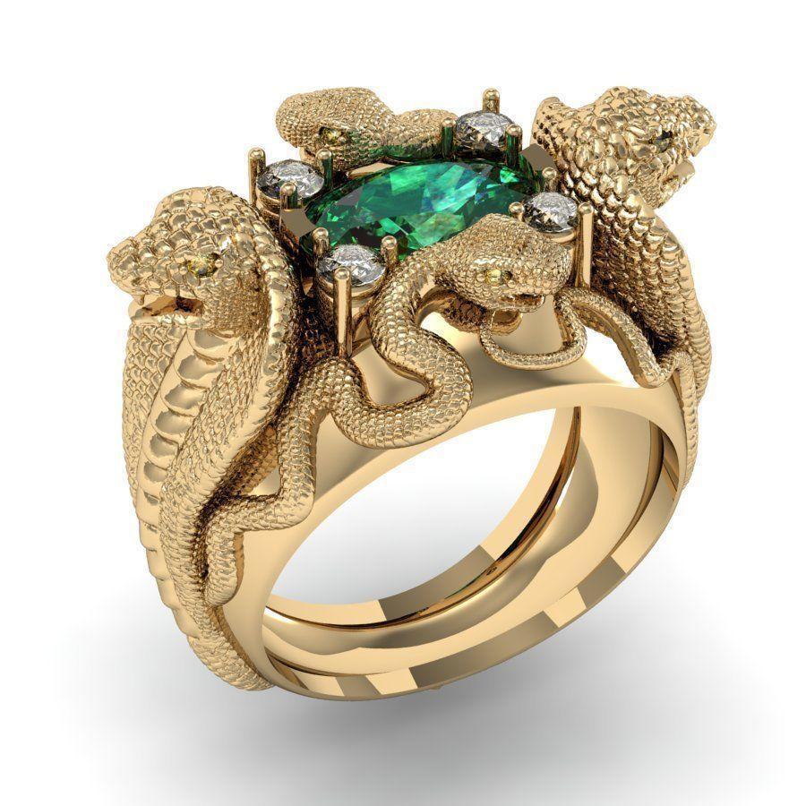 ring four snakes