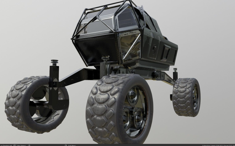 mars rover planet explorer