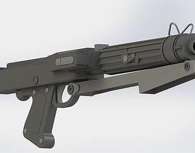 DC 15S Clone blaster carbine 3D print model