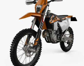 3D model KTM 450 EXC-F 2017