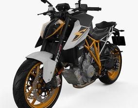 KTM 1290 Super Duke R 2017 3D model
