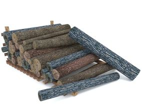 3D model Wood Log 2