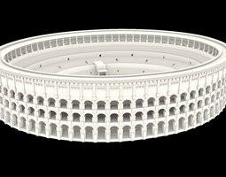 3D Colosseum of Rome