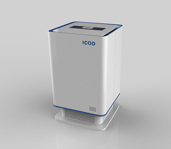air purifier model 3d model obj mtl 3ds stl 3dm ige igs iges stp 1