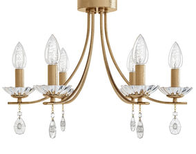 3D model Luse Chandelier with Stones