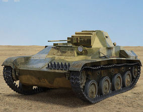 3D model ussr T-60 Tank