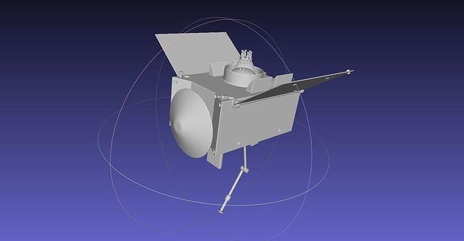 basic printable osiris-rex model 3d model obj mtl 3ds dxf stl dae sldprt sldasm slddrw 1