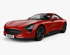 TVR Griffith 2018 british 3D model