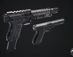 Glock 3D asset